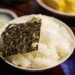 田中屋旅館 - ご飯の美味さを噛みしめ