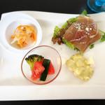レストランティーズ - 前菜4種盛り