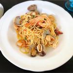 レストランティーズ - 魚介のアーリオオーリオ