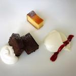 レストランティーズ - ガトーショコラ、チーズタルト、パンナコッタ