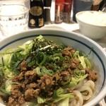 うどん屋 米ちゃん - 肉味噌うどん