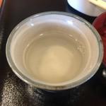 108608800 - 蕎麦湯