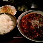 10861538 - ランチ 麻婆豆腐