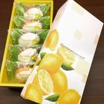 パティスリー・クレジュエ - 【米粉のレモンケーキ】5個入り。北名古屋市の契約農家さんより直接頂いてます『あいちのかおり』と瀬戸内レモンを使ってひとつひとつ丁寧に毎日、お作りしています。