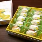 パティスリー・クレジュエ - 【米粉のレモンケーキ】10個入り。北名古屋市の契約農家さんより直接頂いてます『あいちのかおり』と瀬戸内レモンを使ってひとつひとつ丁寧に毎日、お作りしています。