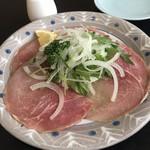 奴 - 生ハムサラダ¥650