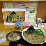 ラーメン さくら - 鹿野豚ラーメン中のミニさくらセット・770円(税込み)