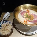 108614098 - 鯛白湯とろり+鯛ご飯