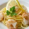 BUONGIORINA - 料理写真:エビのレモンクリームスパゲティ