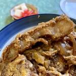 古田食堂 - 肉の厚み