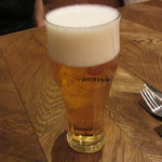 サクレフルール - ランチビール 400円