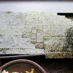 ゆで太郎 - 焼きのりのアップ