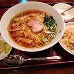 チャイナRai 中国料理 - お得なセット チャーハン・ラーメン・ザーサイ・杏仁豆腐
