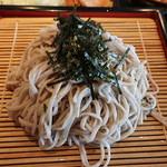 平田牧場 - ざる蕎麦