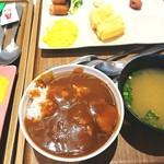 108631849 - カレーに味噌汁(^^;)