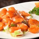 四季中華料理 - えびチリ