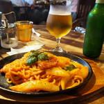 カフェ グルー - ナポリタン & グラスビール