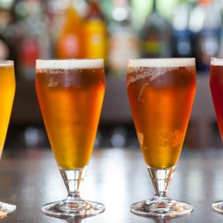 クラフトビールにウイスキー、フレッシュジュースもございます♪