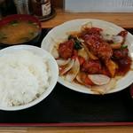 中華料理タカノ - すぶた定食