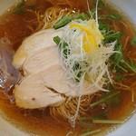 サルタヒコ - キラキラ節(魚介醤油らぁ麺)