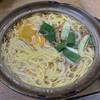 橋本食堂 - 料理写真:鍋焼きラーメン 小