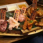 焼肉酒場ともさんかく - ホル盛り 1,078円