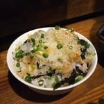 焼肉酒場ともさんかく - ねぎ飯 430円