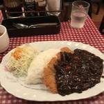レストランあづま - ハヤシライス カツのせ②