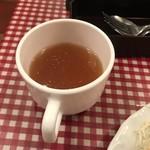 レストランあづま - コンソメスープ