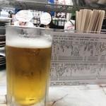 108645322 - 「生ビール(大ジョッキ)」(770円)