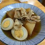 つきのや - 豚バラ大根煮(玉子入り)