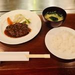 108651435 - 神戸牛ハンバーグ 150g(1,700円)
