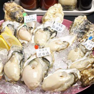 選りすぐりの旨い生牡蠣