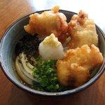 ウドンスタンド五頭 - 料理写真:とり柚子胡椒ぶっかけ