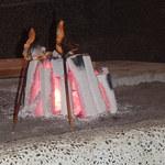 原始焼 火鉢 -