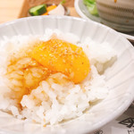 108662806 - ヒシミツ醤油漬け卵かけご飯                       小盛り