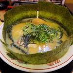 中華そば 花京 - 料理写真:【こってり背脂のりそば + 煮玉子】¥880 + ¥100