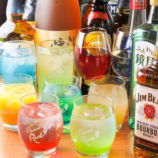 単品飲み放題700円~◆時間無制限飲み放題1500円◆