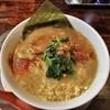 ラーメン ヤスオ - 料理写真:ラうどん(太麺) 130グラム ニンニクショウガ 700円