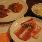 焼肉ロッヂ - 料理写真:最初の盛り合わせ