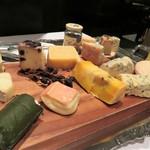 クリマ ディ トスカーナ - チーズプラッター どれも食べた~い!(^^)!