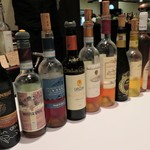 クリマ ディ トスカーナ - デザートと一緒に貴腐ワイン こんなに並べて~(笑)選べないですから(^^;