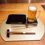 108678024 - まずはサントリーマスターズドリームの生ビールで乾杯!♪(*^^)o∀*∀o(^^*)♪