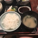 串匠 - お代わり無料のご飯と味噌汁!
