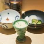 神楽坂 鳥幸 - 漬け物  大根おろし  白湯スープ