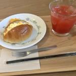 カフェ ポケットカスタネット - 料理写真:Dモーニング ¥ドリンク代