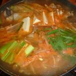 漢拏山 - コラーゲンたっぷりアンコウ鍋