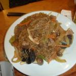 漢拏山 - 野菜たっぷりのチャプチェ(しめじが美味い)