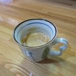 飯や うちごはん - 食後にサービスで出てきたコーヒー