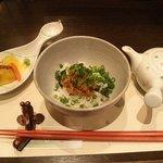 天ぷら 酒菜 醍醐 - 鯛茶漬け